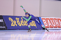 SPEED SKATING: SALT LAKE CITY: 19-11-2015, Utah Olympic Oval, ISU World Cup, training, Jorrit Bergsma (NED), ©foto Martin de Jong