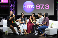 HOLLYWOOD, FL - NOVEMBER 02: Kiki Nyemchek and Koine Iwasaki of So You Think You Can Dance season 14 attend Hits Live at radio station Hits 97.3 on November 2, 2017 in Hollywood, Florida. Credit: mpi04/MediaPunch /NortePhoto.com