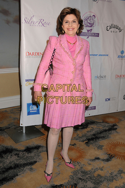 GLORIA ALLRED .Attending Jenesse Silver Rose Weekend Gala 2008 at the Beverly Hills Hotel, Beverly Hills, California, USA, .27 April 2008..full length pink skirt jacket suit .CAP/ADM/BP.©Byron Purvis/Admedia/Capital PIctures