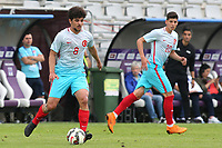 Eslem Ozturk of Turkey U21's in action during Portugal Under-19 vs Turkey Under-21, Tournoi Maurice Revello Football at Stade Parsemain on 3rd June 2018