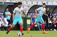 Eslem Ozturk of Turkey U21's in action during Portugal Under-19 vs Turkey Under-21, Tournoi Maurice Revello Football at Stade Parsemain on 3rd June 2018