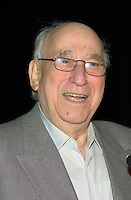 October2nd, 2000 File Photo of<br /> The founder of SAM THE RECORDMAN music chain ; Sam Sniderman,adressing the Canadian Retail Council, in Toronto.<br /> <br /> Sam Sinderman pass away at 92, September 24, 2012<br /> <br /> The 50 year old Canadian  chain filed (october 30th, 2001) for protection from it's creditors and is expecting bankrupcy mainly  because of competition from chains suchs as HMV and also because of MP3.<br /> <br /> The company now owned by the son Bobby  , annonced it is closing the Younge St, flagship store on June 30, 2007.<br /> <br /> Photo by Pierre Roussel / I Photo