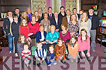 Maureen Hayes, Tubrid, Killorglin, pictured with her family as she celebrated her 80th birthday in The Malton hotel, Killarney on Wednesday 29th December.