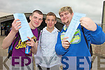 Neal Brosnan, Joseph Lyne and Calvin Knightly Leaving Certificate students Mercy Mounthawk