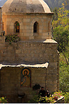 Israel, Jerusalem mountains, Monastery of St. John of the Desert