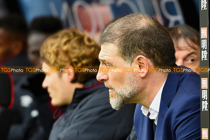 West Ham United Manager Slaven Bilic during AFC Bournemouth vs West Ham United, Premier League Football at the Vitality Stadium on 11th March 2017
