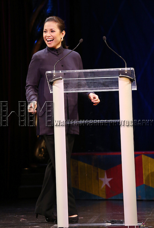 Lea Salonga during the 69th Annual Theatre World Awards Presentation at the Music Box Theatre in New York City on June 03, 2013.