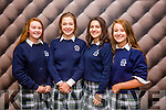 The Tralee Parishes Transition Year  Day  held at Ballyroe Hotel on Tuesday. Pictured l-r Ava Kelliher, Jacinta O'Brien, Nela Budagovas and Sharon Kelliher from Presentation Tralee