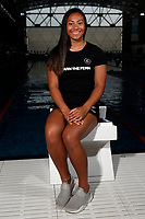 Gabrielle Fa'amausili, New Zealand swimming team announcement for the 2018 Commonwealth Games. Sir Owen G. Glenn National Aquatic Centre, Auckland. 22 December 2017. Copyright Image: William Booth / www.photosport.nz