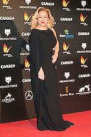 Carmen Machi attends the Feroz Cinema Awards 2015 at Las Ventas, Madrid,  Spain. January 25, 2015.(ALTERPHOTOS/)Carlos Dafonte) /NortePhoto<br /> <br /> nortePhoto.com