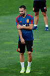 Dani Carvajal during the Trainee Session at Ciudad del Futbol in Las Rozas, Spain. September 02, 2019. (ALTERPHOTOS/A. Perez Meca)