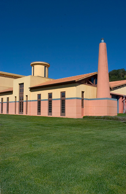 Clos Pegase Winery near Calistoga, CA