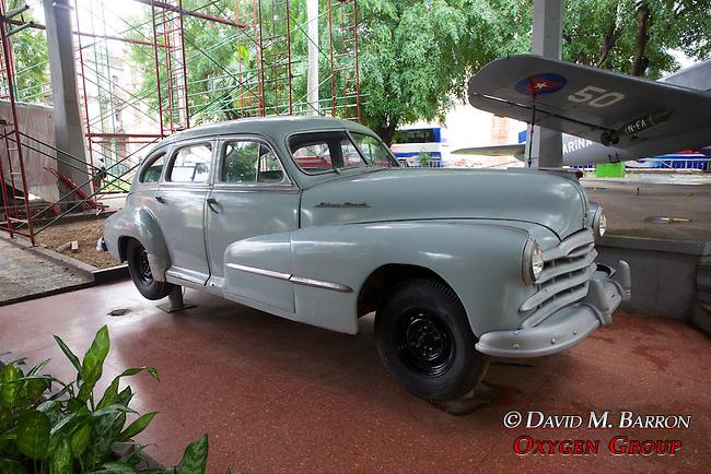 Vehicle At The Granma Memorial