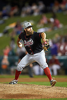 Great Lakes Loons pitcher Matt Campbell (13) delivers a pitch during a game against the Kane County Cougars on August 13, 2015 at Fifth Third Bank Ballpark in Geneva, Illinois.  Great Lakes defeated Kane County 7-3.  (Mike Janes/Four Seam Images)