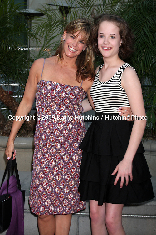 Catherine Mary Stewart & daughter Hanna Mary Allerton arriving at the Love N' Dancing Premiere at the Arclight Cinemas in  Los Angeles, CA  on May 6, 2009.©2009 Kathy Hutchins / Hutchins Photo....                .
