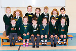 Junior infants at Loreto NS on their first day of school on Tuesday front row l-r: Lucas Coleman,Caithlín Lucey, Cathal O'Sullivan-Darcy, Ruby Greene, Matthew Myles, Leah Doolan. Back row: Ethan Clarke, Rebbeca Healy, darragh Lucey, Olivia Murphy, Sean Lyne, Ava Conroy and Colm O'Sullivan
