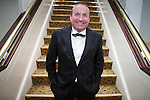 © Joel Goodman - 07973 332324 . 06/11/2014 .  Manchester , UK . DAVE FISHWICK of the Bank of Dave . The MEN Business Awards 2014 at the Midland Hotel . Photo credit : Joel Goodman