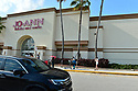 PEMBROKE PINES, FLORIDA - APRIL 19: Customers line up outside wearing face masks to enter Jo-Ann Fabrics and crafts store as they struggle to stay open during the Coronavirus (COVID-19) pandemic. As states trying to figure out the right protocol to put in place another to re-open the US economy and the country on April 19, 2020 in Pembroke Pines Florida.  ( Photo by Johnny Louis / jlnphotography.com )