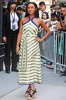 NEW YORK, EUA, 29.06.2017 -  MELANIE-LIBURD  - A atriz  britanica Melanie Liburd é vista no Soho na Ilha de Manhattan em New York nesta quinta-feira, 29 junho. (Foto: Vanessa Carvalho/Brazil Photo Press)