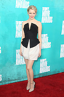 Emma Stone at the 2012 MTV Movie Awards held at Gibson Amphitheatre on June 3, 2012 in Universal City, California. ©mpi29/MediaPunch Inc.