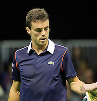Februari 11, 2015, Netherlands, Rotterdam, Ahoy, ABN AMRO World Tennis Tournament, Roberto Bautista Agut (ESP)<br /> Photo: Tennisimages/Henk Koster