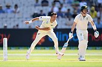 27th December 2019; Melbourne Cricket Ground, Melbourne, Victoria, Australia; International Test Cricket, Australia versus New Zealand, Test 2, Day 2; Trent Boult of New Zealand bowls - Editorial Use