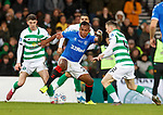08.11.2019 League Cup Final, Rangers v Celtic: Alfredo Morelos with Ryan Christie and Callum McGregor