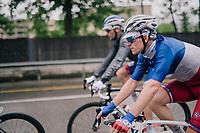 Arnaud D&eacute;mare (FRA/Groupama-FDJ)<br /> <br /> Stage 4: Gansingen &gt; Gstaad (189km)<br /> 82nd Tour de Suisse 2018 (2.UWT)