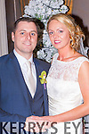 Michelle O'Riordan, Millstreet, daughter of Michael and Ann and David O'Riordan, Kilcummin, son of Michael and Carmel, who were married in St Patricks church, Millstreet on Monday 29th December, Fr Martin Spillane officiated at the ceremony, assisted by Fr John Fitzgerald, best man was Danny O'Riordan, groomsmen were Kevin O'Riordan, David Tarrant and Philip O'Connor, bridesmaids were Therese Hickey, Irene Houihan, Annmarie McIlroy, and Paula O'Connor, flowergirls were Faye and Leah O'Connor, page boy was Joe O'Connor, the reception was held in the Killarney Oaks Hotel and the couple will reside in Kilcummin