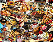 Lori, STILL LIFE STILLEBEN, NATURALEZA MORTA, paintings+++++Diner Desserts_New_2014_2_72,USLS12,#I#, EVERYDAY ,puzzles ,collage