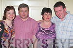 Country: Letting their hair down at the Country & Western Weekend in the Earl of Desmond Hotel, Tralee, on Friday evening were Siobhan Foley, Joe Cotter, Nora Herlihy and Jack Kelly, all from Tralee..