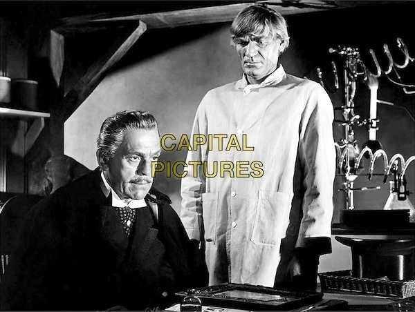 Boris Karloff & John Dierkes.in Abbott and Costello Meet Dr. Jekyll and Mr. Hyde.*Filmstill - Editorial Use Only*.CAP/PLF.Supplied by Capital Pictures.