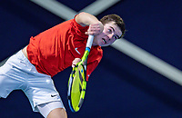 Hilversum, Netherlands, December 2, 2018, Winter Youth Circuit Masters, Daniel Verbeek (NED)<br /> Photo: Tennisimages/Henk Koster