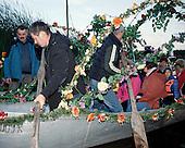 Osieczna 20.06.2015 Poland <br /> Residents of Osieczna are sailing in the lake to put wreaths on the lake in the Midsummer's Night.<br /> Photo: Michal Adamski / Napo Mentor<br /> <br /> Mieszkancy Osiecznej wyplywaja na jezioro aby puszczac wianki w Noc Swietojanska.<br /> Photo: Michal Adamski / Napo Mentor