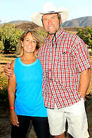 LOS ANGELES - AUG 27: Ken Smith, Tina Smith at the Clay Walker Country at the Downs concert  at Galway Downs on August 27, 2017 in Temecula, California