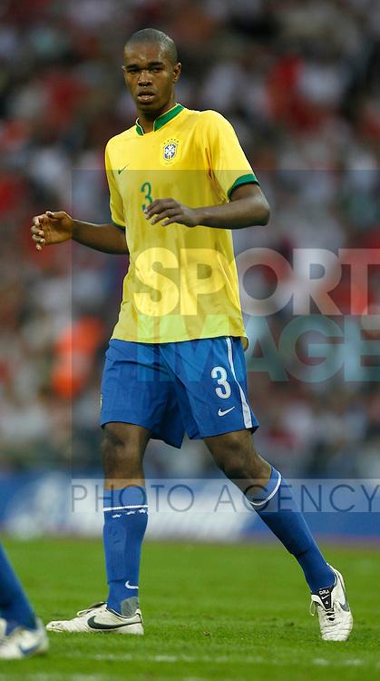 Brazil's Naldo..International Friendly..England v Brazil..1st June, 2007..--------------------..Sportimage +44 7980659747..admin@sportimage.co.uk..http://www.sportimage.co.uk/