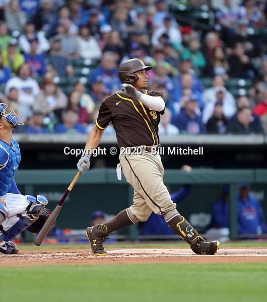 Josh Naylor - San Diego Padres 2020 spring training (Bill Mitchell)