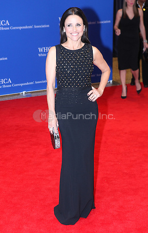 WASHINGTON DC - MAY 3: Julia Louis-Dreyfus attending the White House Correspondents' Association Dinner in Washington DC on May 3, 2014. Photo Credit: RTNWarne/MediaPunch