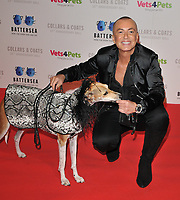 Julien Macdonald at the Battersea Dogs &amp; Cats Home Collars &amp; Coats Gala Ball 2018, Battersea Evolution, Battersea Park, London, England, UK, on Thursday 01 November 2018.<br /> CAP/CAN<br /> &copy;CAN/Capital Pictures