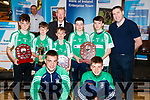 Pictured at the Tralee Enterprise Town Community, Sport and Business Expo at Tralee Sports Complex on Saturday morning last, were front l-r: Ryan O'Neill, Tadhg Reen. Back l-r: Jamie Fitzgerald, Cian O'Neill, Edwards Sheehy, Micheál Ó Muircheartaigh, Graham Sheehy Liam Óg Kingston and Darragh Ó Sé.