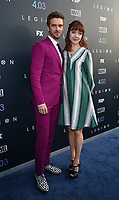 "LOS ANGELES, CA - APRIL 2: Dan Stevens and Susie Hariet attend the season two premiere of FX's ""Legion"" at the DGA Theater on April 2, 2018 in Los Angeles, California. (Photo by Frank Micelotta/FX/PictureGroup)"