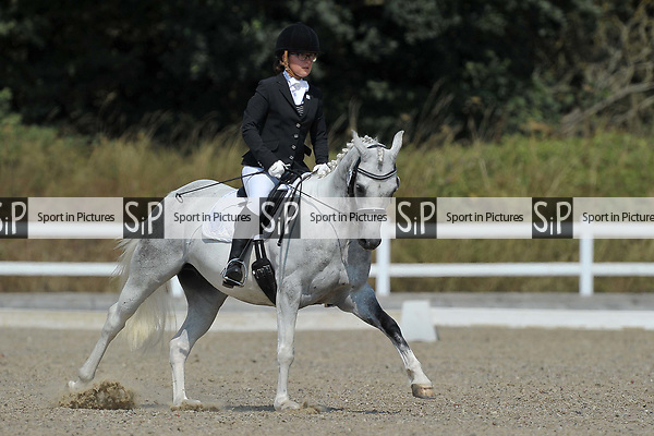 Class 1. British dressage. Brook Farm Training Centre. Essex. UK. 27/07/2018. ~ MANDATORY Credit Garry Bowden/Sportinpictures - NO UNAUTHORISED USE - 07837 394578