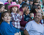 A photograph taken during the Reno Rodeo Nevada Blue Night on Wednesday, June 26, 2019.