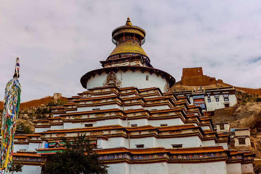 Kumbum Stupa, Palcho Monastery, Gyangze, Tibet (Xizang), China