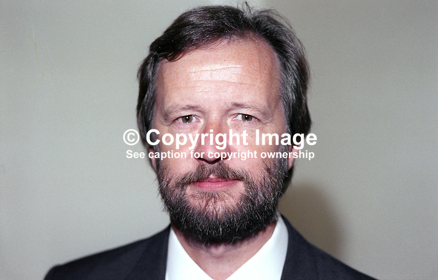 Martyn Jones, MP, Labour Party, Clwyd South West, Wales, UK, 19901005005.<br /> <br /> Copyright Image from Victor Patterson, 54 Dorchester Park, <br /> Belfast, UK, BT9 6RJ<br /> <br /> t1: +44 28 9066 1296 (from Rep of Ireland 048 9066 1296)<br /> t2: +44 28 9002 2446 (from Rep of Ireland 048 9002 2446)<br /> m: +44 7802 353836<br /> <br /> e1: victorpatterson@me.com<br /> e2: victorpatterson@gmail.com<br /> www.victorpatterson.com<br /> <br /> Please see my Terms and Conditions of Use at www.victorpatterson.com. It is IMPORTANT that you familiarise yourself with them.<br /> <br /> Images used on the Internet must be visibly watermarked i.e. &copy; Victor Patterson<br /> within the body of the image and copyright metadata must not be deleted. Images <br /> used on the Internet have a size restriction of 4kbs and will be chargeable at current<br />  NUJ rates unless agreed otherwise.<br /> <br /> This image is only available for the use of the download recipient i.e. television station, newspaper, magazine, book publisher, etc, and must not be passed on to any third <br /> party. It is also downloaded on condition that each and every usage is notified within 7 days to victorpatterson@me.com<br /> <br /> The right of Victor Patterson to be identified as the author is asserted in accordance with The Copyright Designs And Patents Act (1988). All moral rights are asserted.