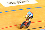 LONDON, ENGLAND /08/2012 - Jaye Milley competes in the Men's Individual Time Trial during the London 2012 Paralympic Games at the Velodrome. (Photo: Phillip MacCallum/Canadian Paralympic Committee)