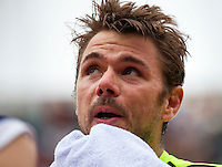 Paris, France, 23 june, 2016, Tennis, Roland Garros, Stan Wawrinka (SUI)<br /> Photo: Henk Koster/tennisimages.com