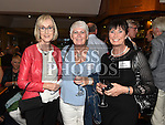 Adrienne McDonald, Angela Woods and Ann Smyth at the Ardee CS Leaving Cert Class of 1976 reunion in Ardee Golf Club. . Photo:Colin Bell/pressphotos.ie