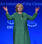 CORAL GABLES, FL - MARCH 07: Former U.S. Secretary of State and U.S. Senator from New York Hillary Rodham Clinton attend Clinton Global Initiative University at BankUnited Center on Saturday March 7, 2015 in Coral Gables, Florida. ( Photo by Johnny Louis / jlnphotography.com )