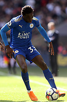 Fousseni Diabate of Leicester Cityy during Tottenham Hotspur vs Leicester City, Premier League Football at Wembley Stadium on 13th May 2018